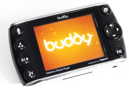 buddy player with daisy book reader