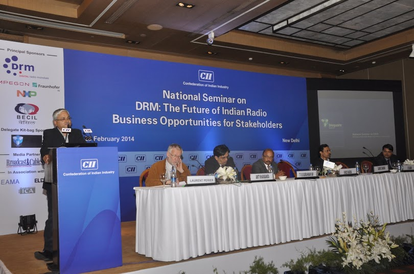 Bisquare as a co-sponsor of CII sponsored DRM seminar